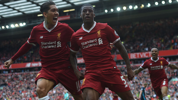 Liverpool celebrated a 3-0 win over Middlesbrough in the final game of the EPL season overnight.