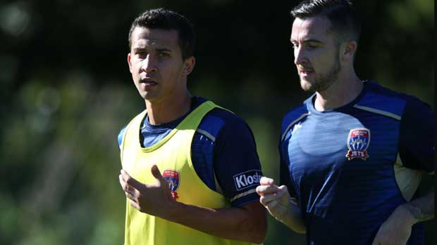 Irish striker Roy O'Donovan has vowed to bring goals to the Newcastle Jets.