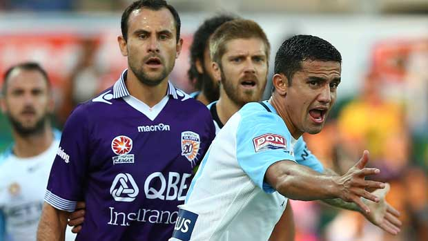 Tim Cahill has welcomed critics writing off Melbourne City's chances for Sunday's Hyundai A-League Elimination Final against Perth Glory.