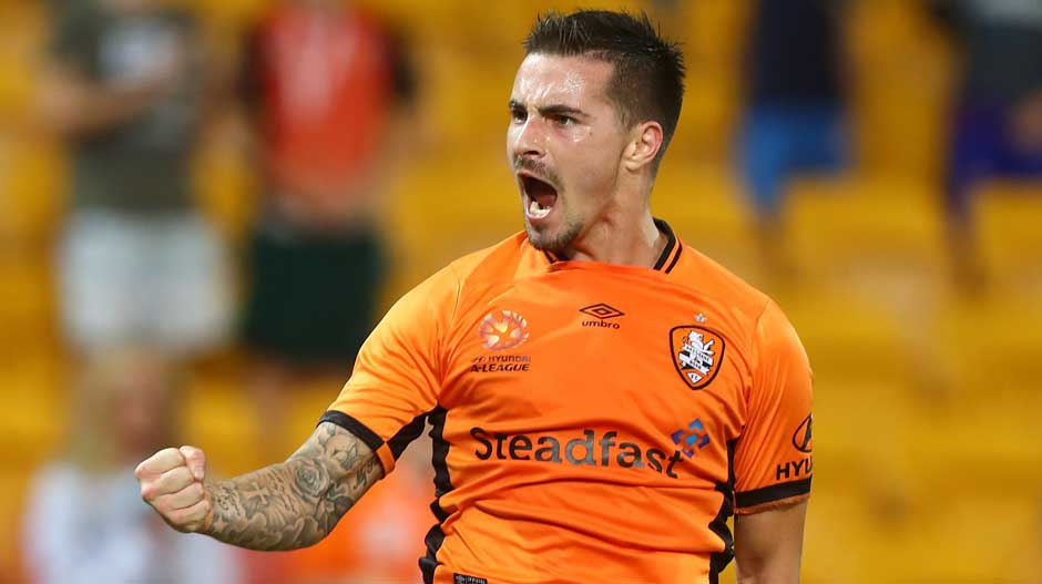 Jamie Maclaren is the April nominee for the Hyundai A-League, NAB Young Footballer of the Year 2016/17 Award.