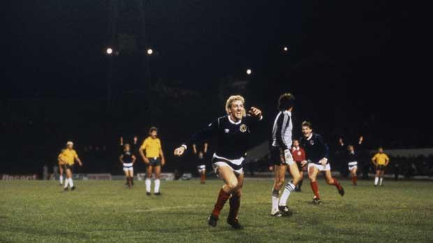 Socceroos v Scotland 1986