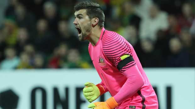 Mat Ryan says he, like the Caltex Socceroos side, is far from the finished article right now.