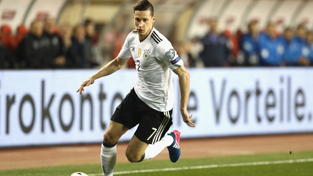 PSG star Julian Draxler has been named in Germany's Confederations Cup squad.