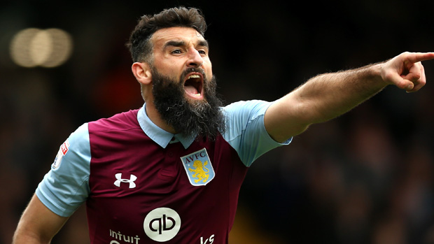 Mile Jedinak helped Aston Villa to a narrow win in the Championship overnight.