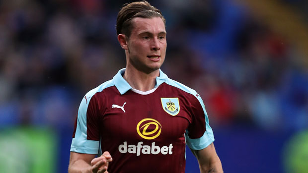 Burnley midfielder Aiden O'Neill.