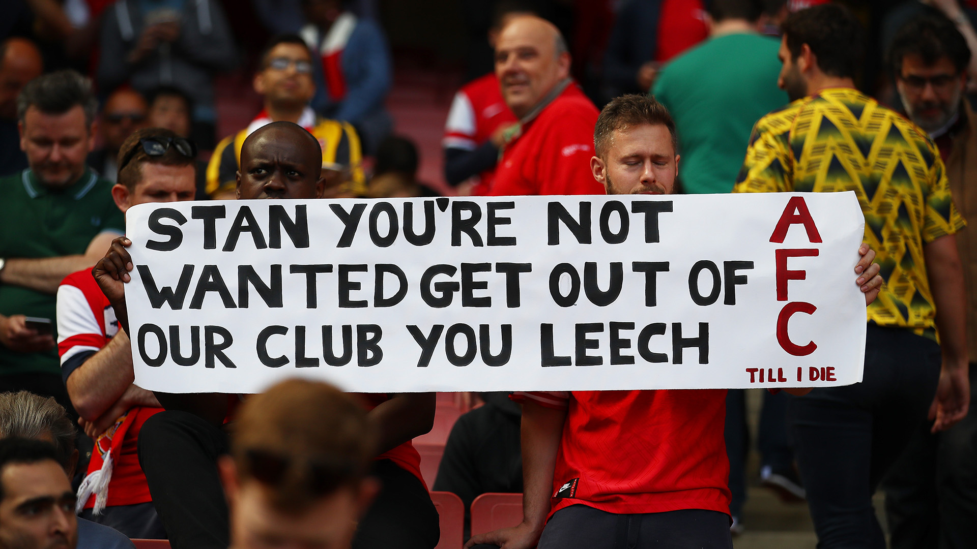 Kroenke Out! Champions League failures mean Arsenal must listen to their fans