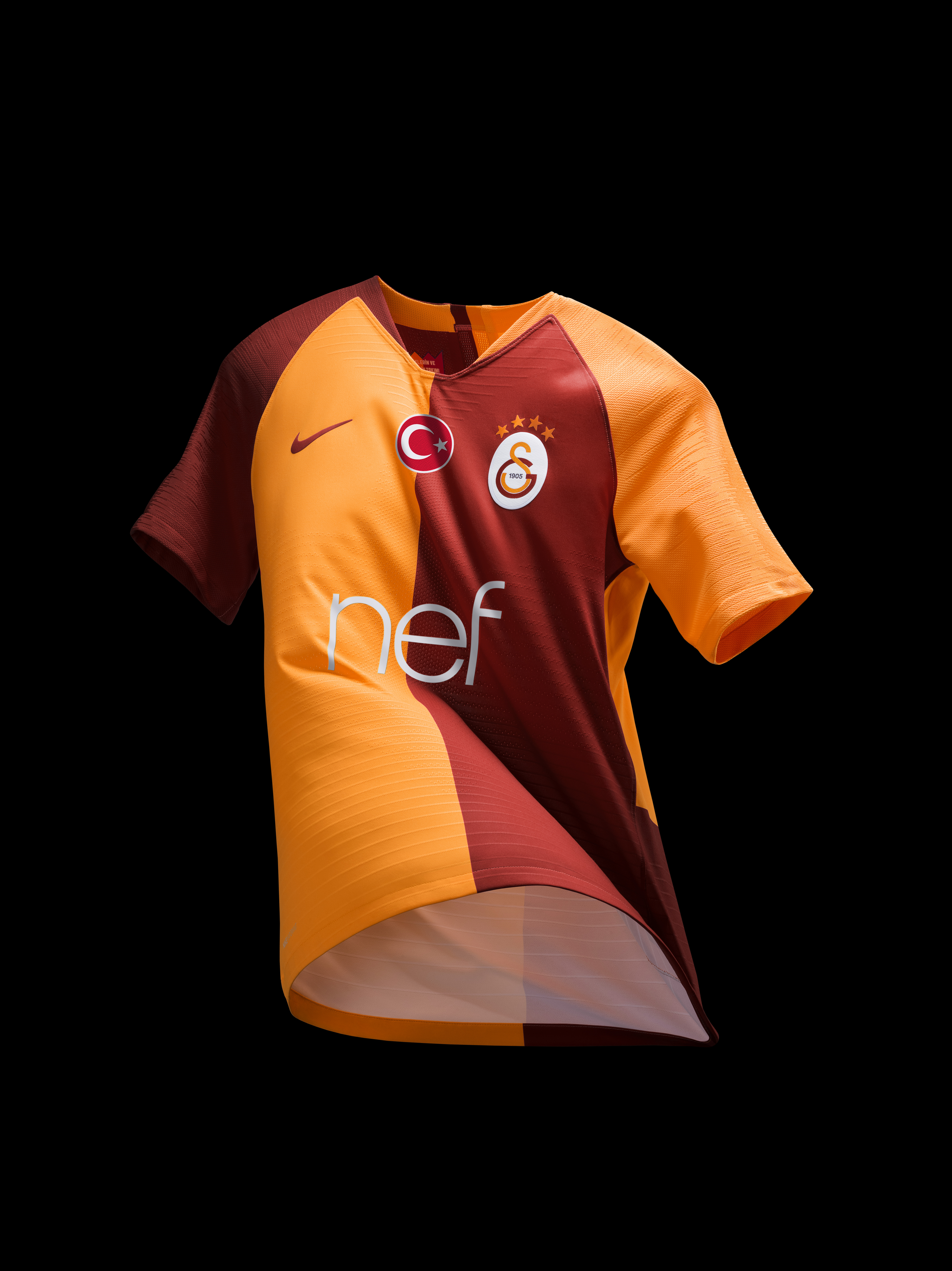 Galatasaray Home Kit 2018-19 EMBED ONLY