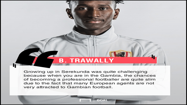 Bubacarr Trawally Graphic