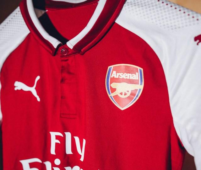 Arsenal Home Kit 2017 18