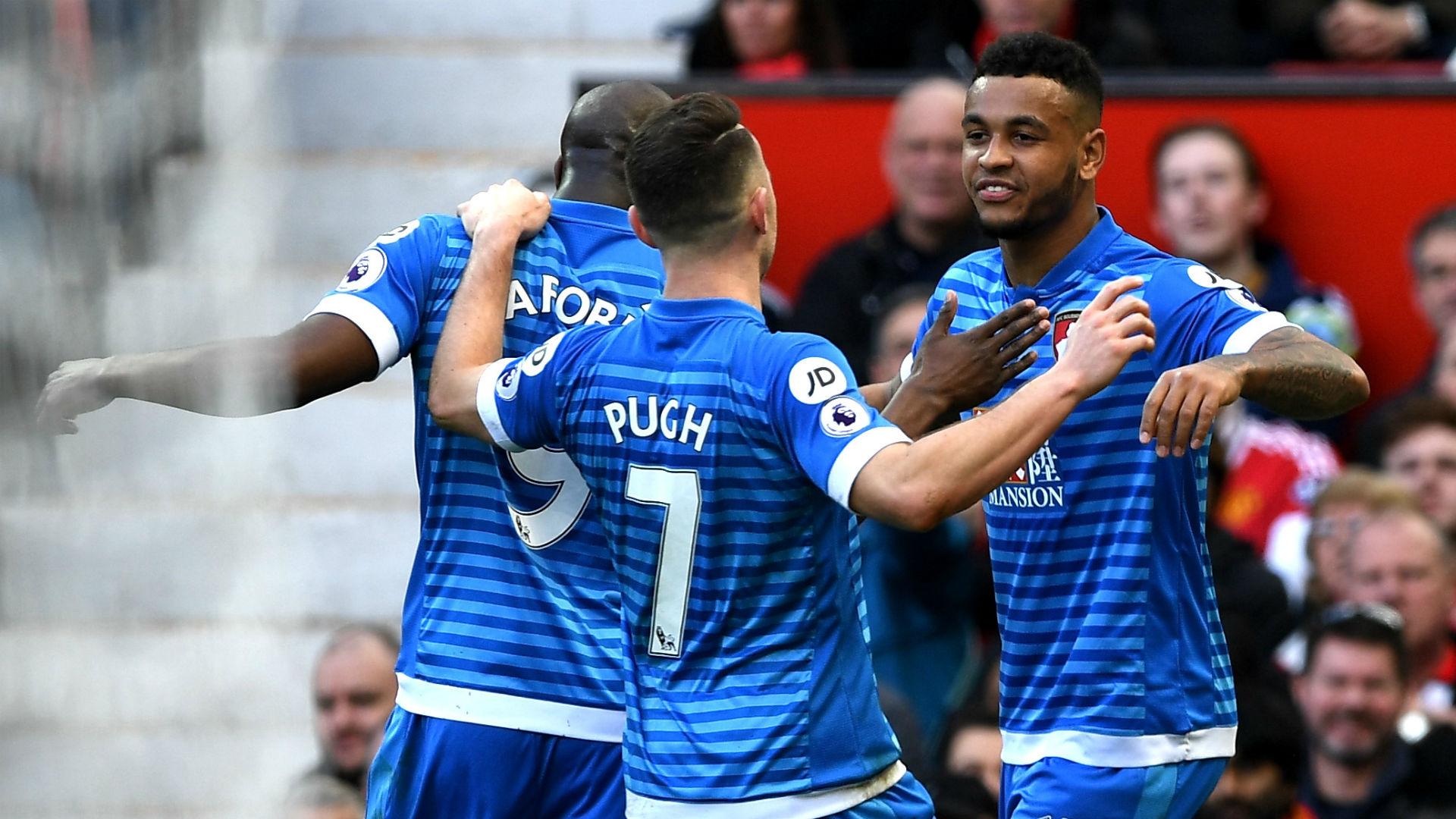 Josh King Premier League Manchester United v Bournemout