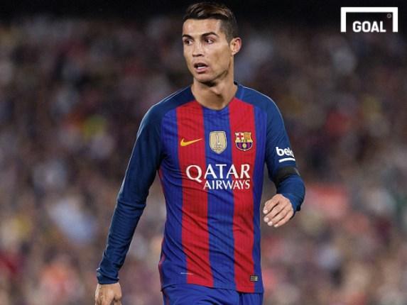 Como Seria O Barcelona Com Cr7 No Ataque Goal