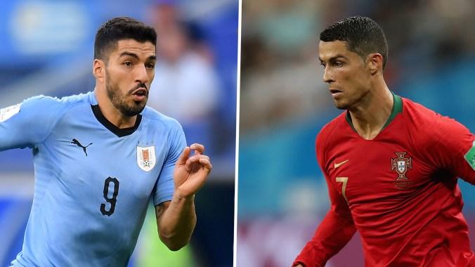 Image result for portugal vs uruguay live stream
