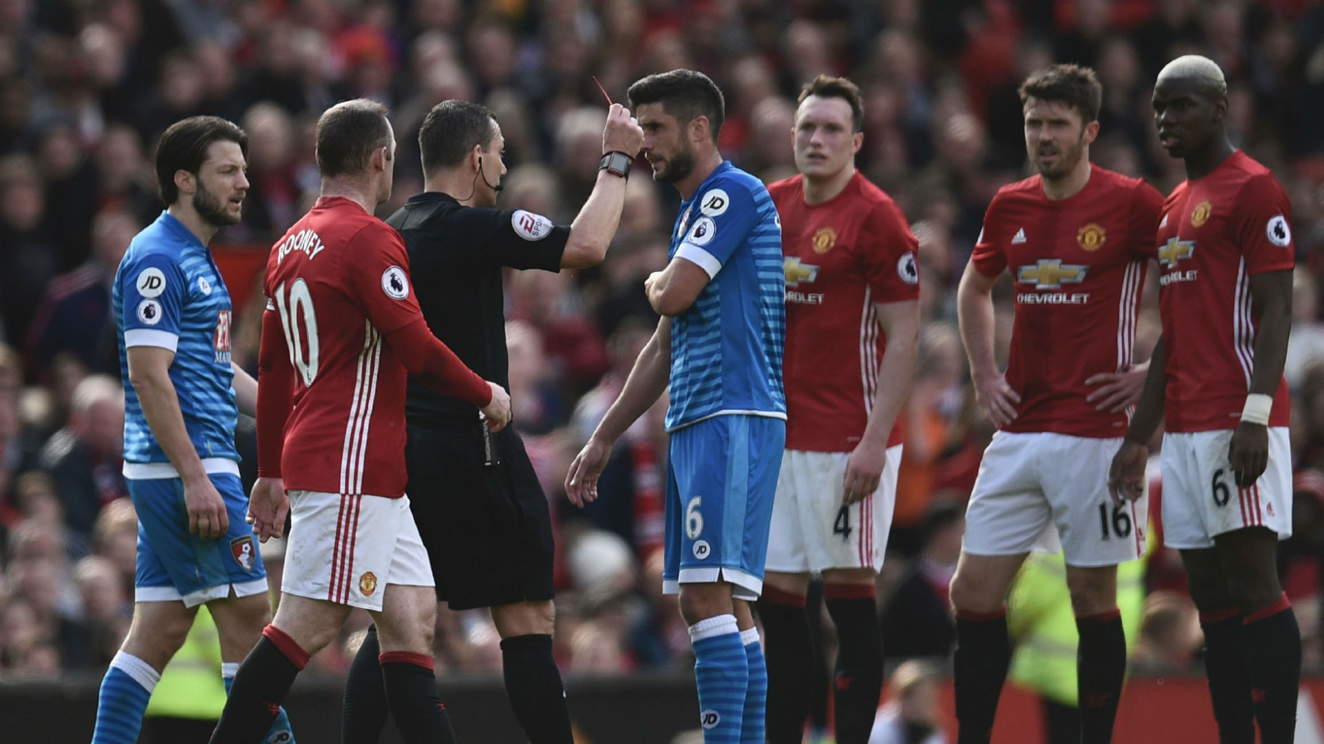 Andrew Surman Premier League Manchester United v Bournemouth