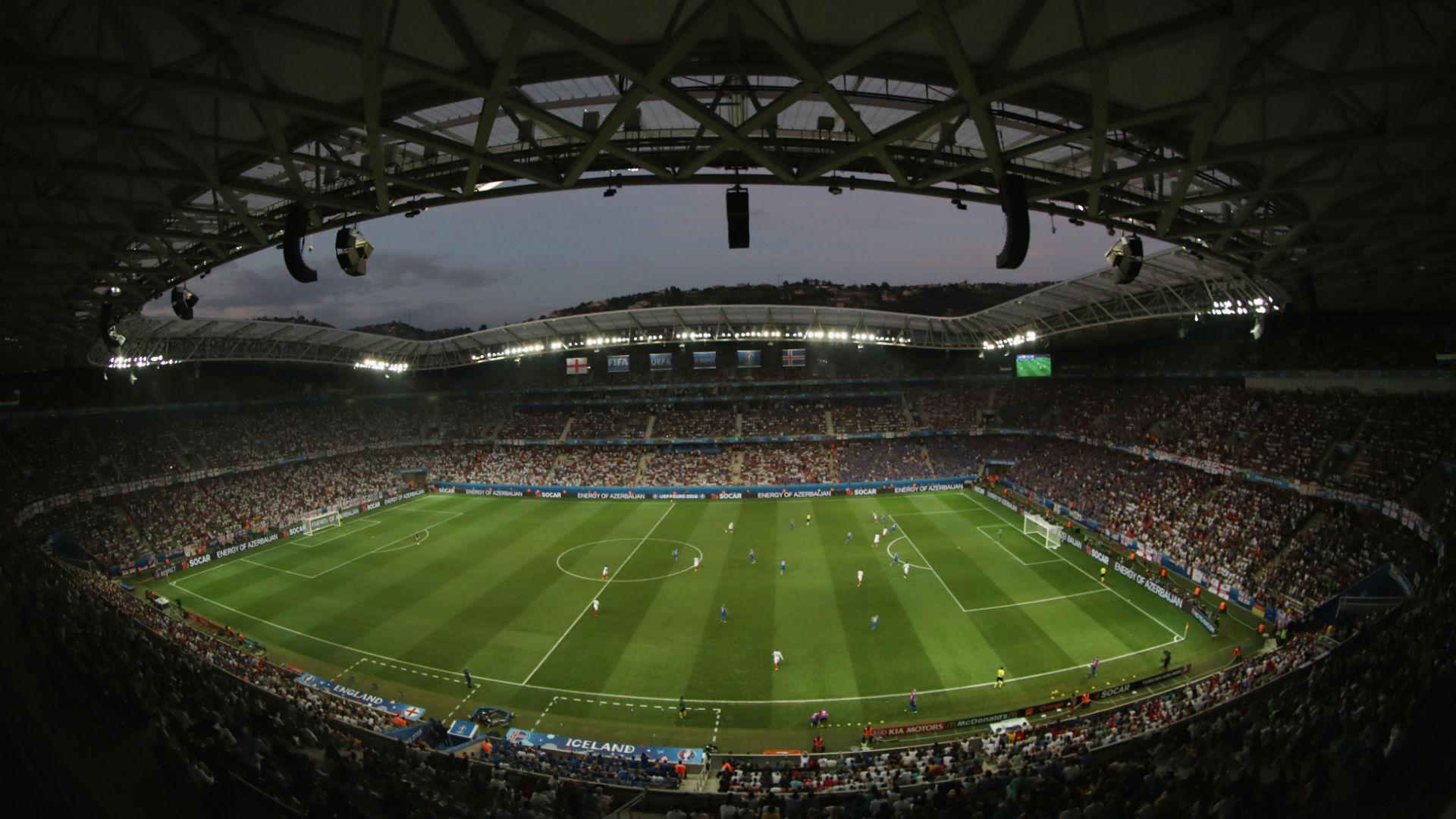 Allianz Riviera Stadium Nice general view