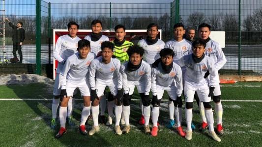 Garuda Select Hajar Blackburn Rovers U 18 Goal