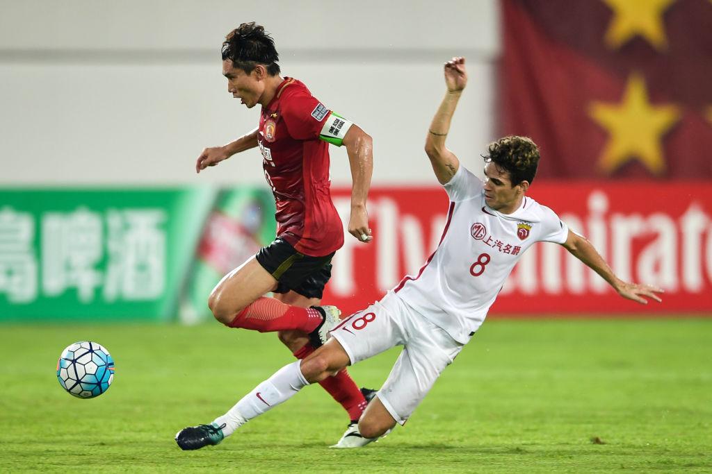 Afc Champions League 2017 Shanghai Sipg Edge Guangzhou In