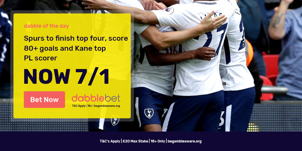 Spurs dabble of the day graphic
