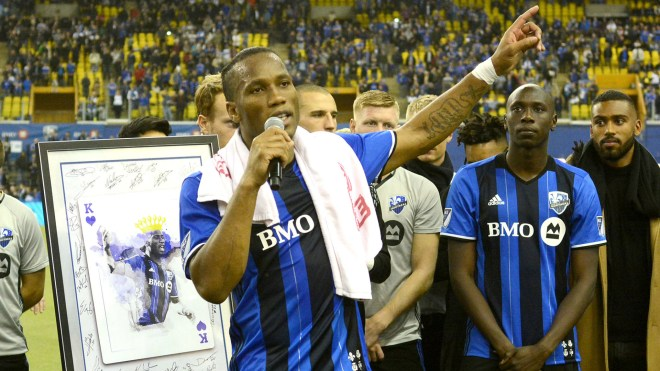 Drogba hints at Marseille return as he states intent to play on