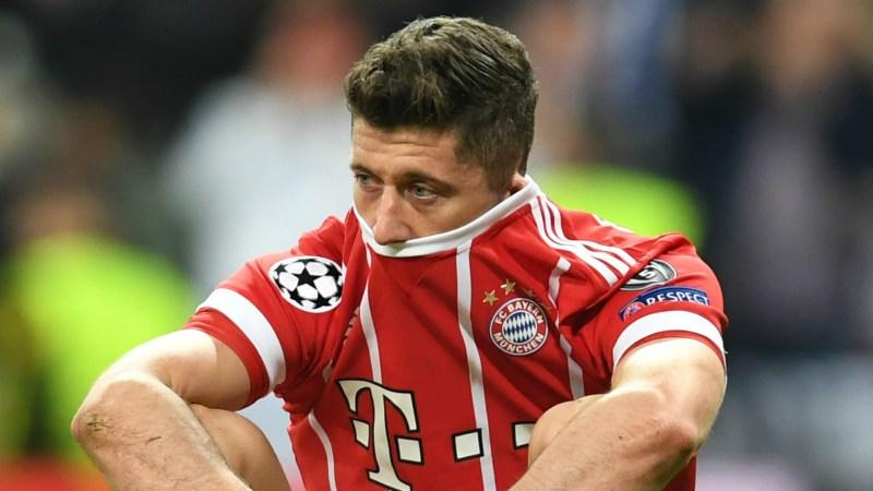Robert Lewandowski Bayern Munich 2017-18