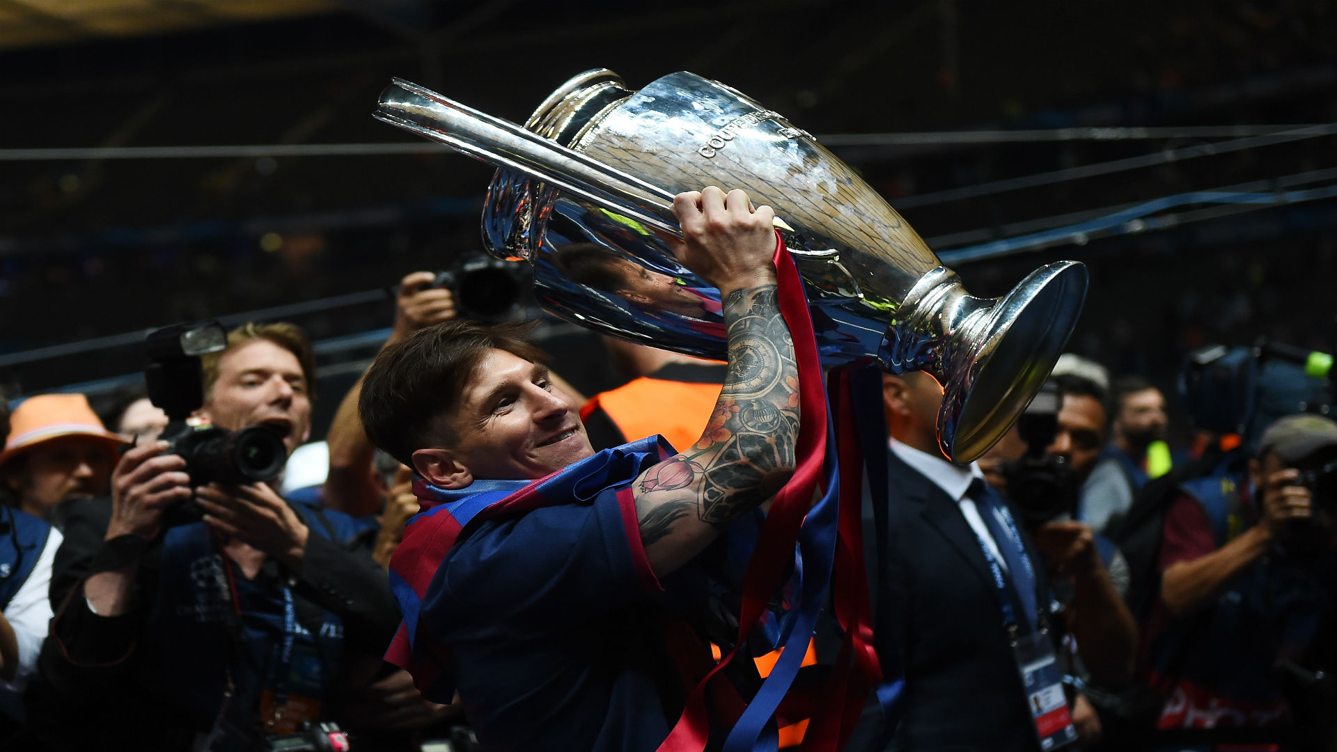 Messi Champions League 2015