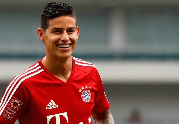 Bayern Munich as big if not bigger than Real Madrid - James