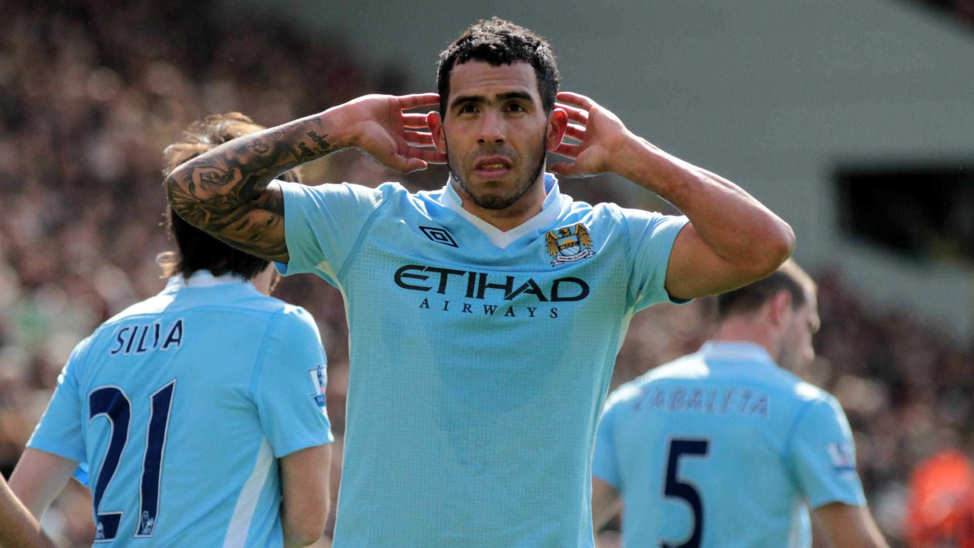 Carlos Tevez Manchester City 2012