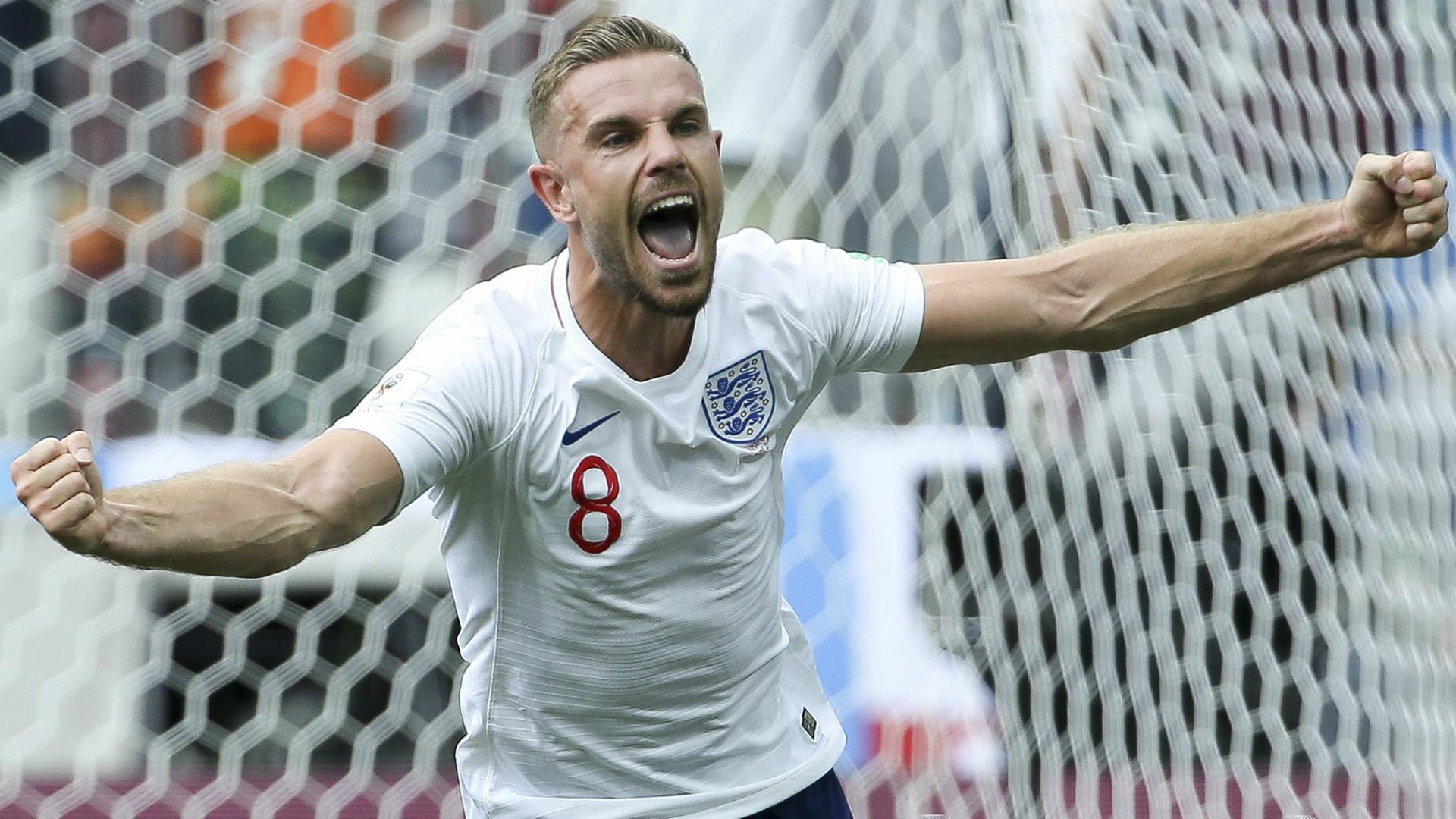 Jordan Henderson England 2018 World Cup