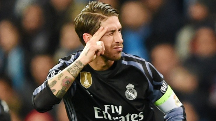 Napoli 1-3 Real Madrid (agg 2-6): Ramos double sends Merengue into quarters