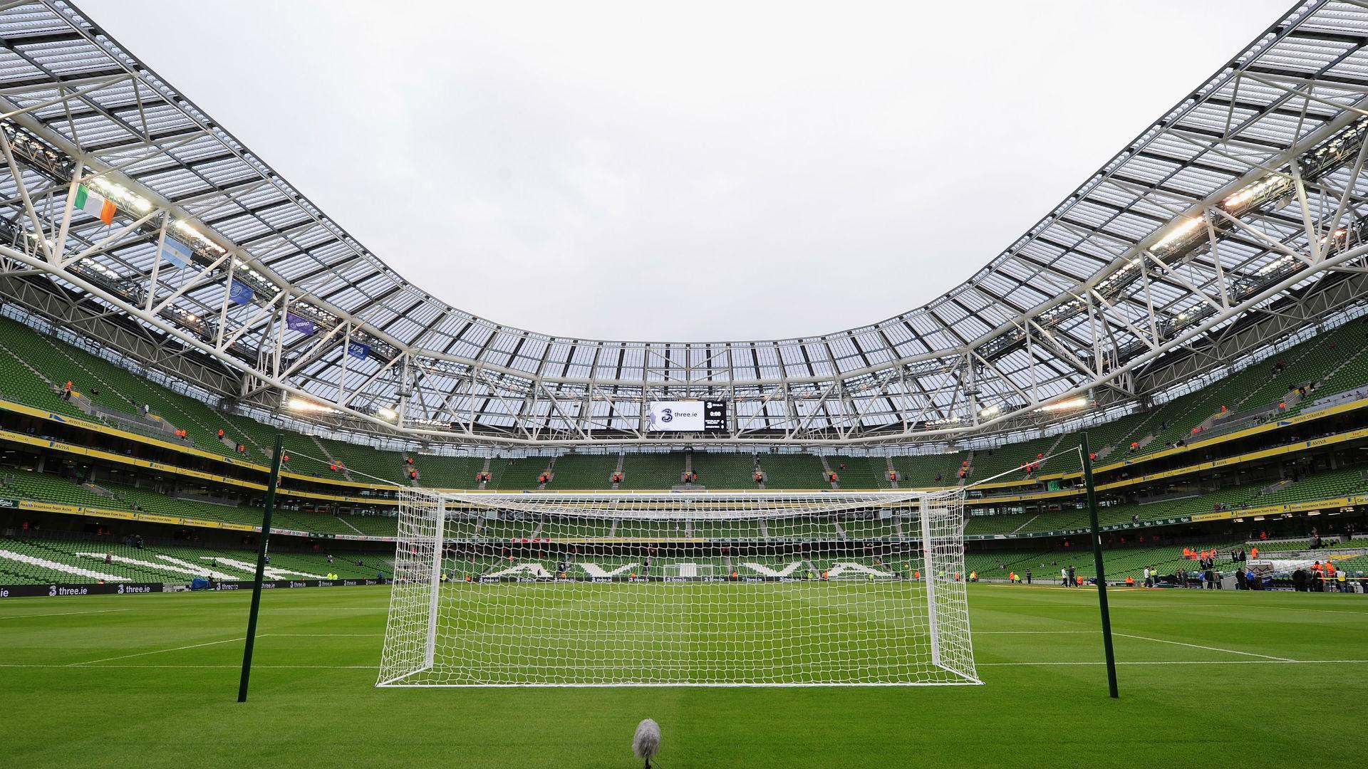 Aviva Stadium Dublin Ireland general view