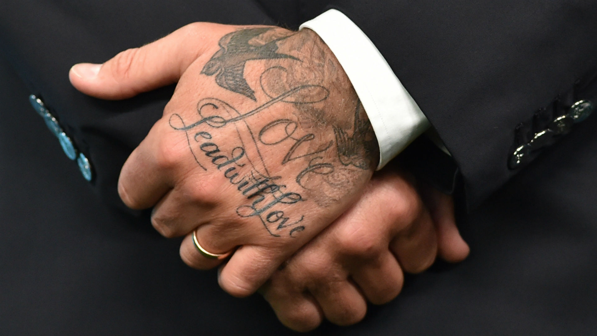David Beckham Chinese Tattoo Meaning