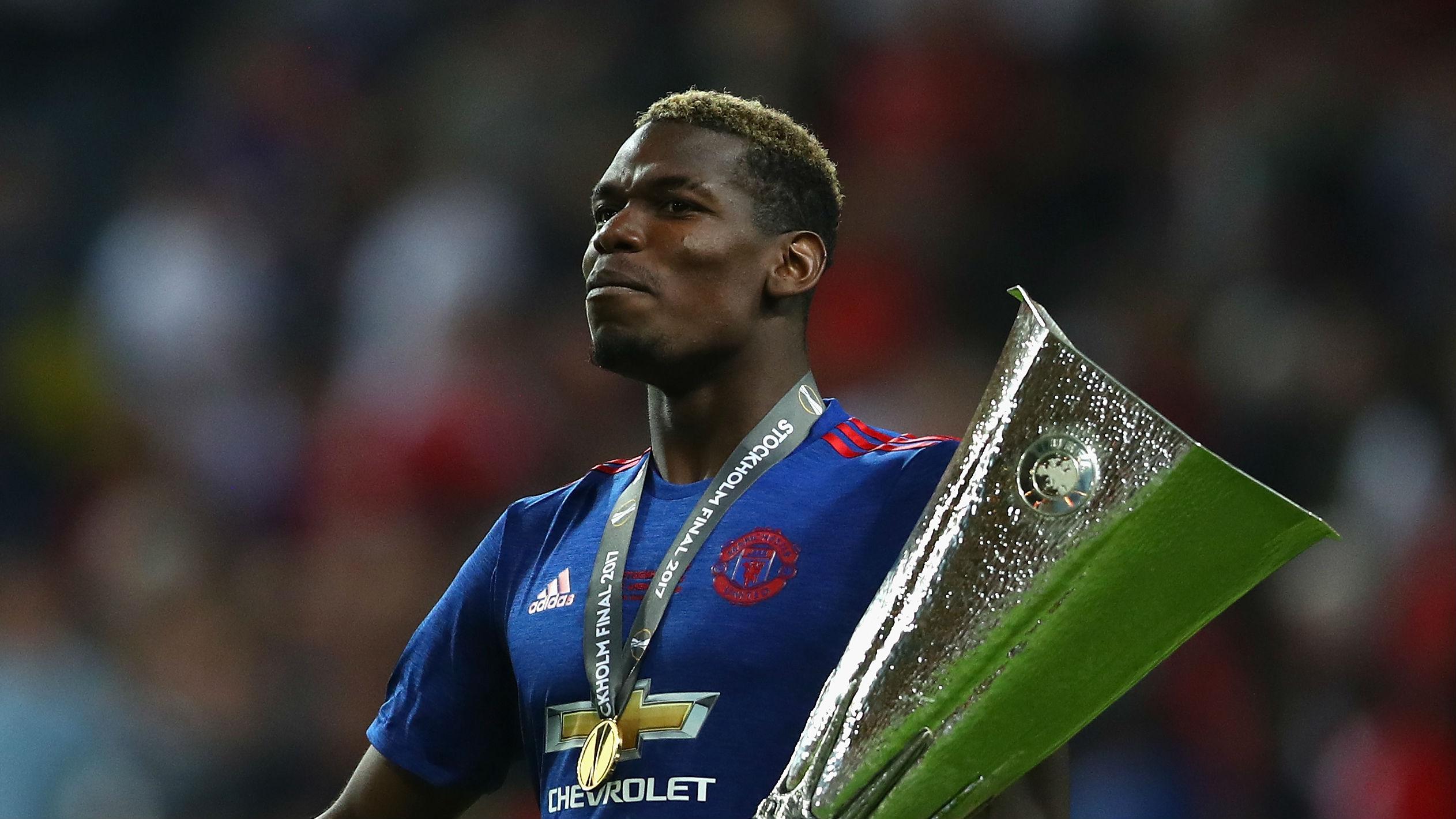 Paul Pogba Manchester United Europa League