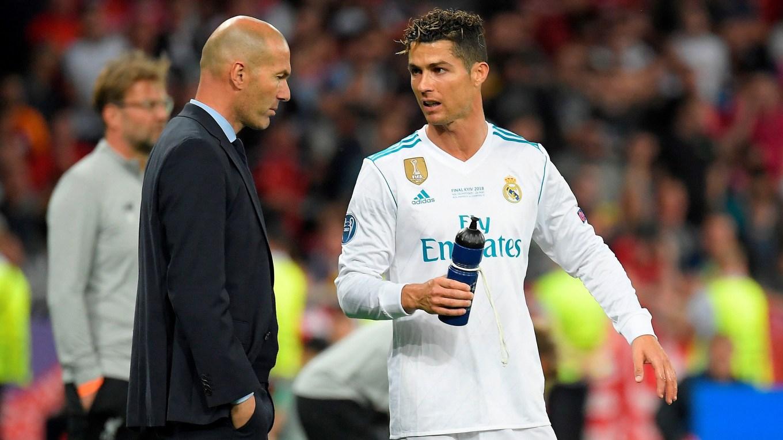 Cristiano e Zidane