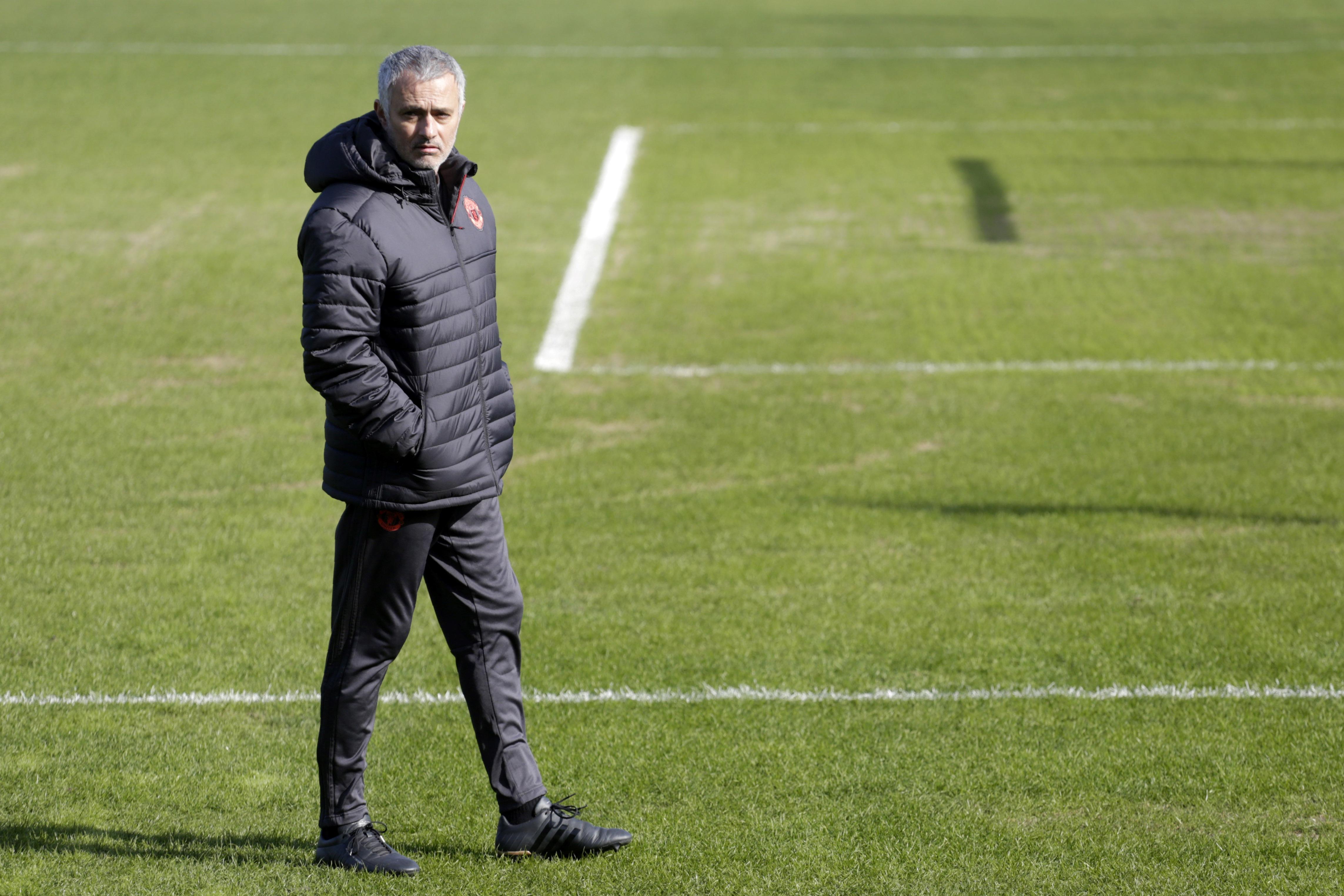 Jose Mourinho Rostov Manchester United