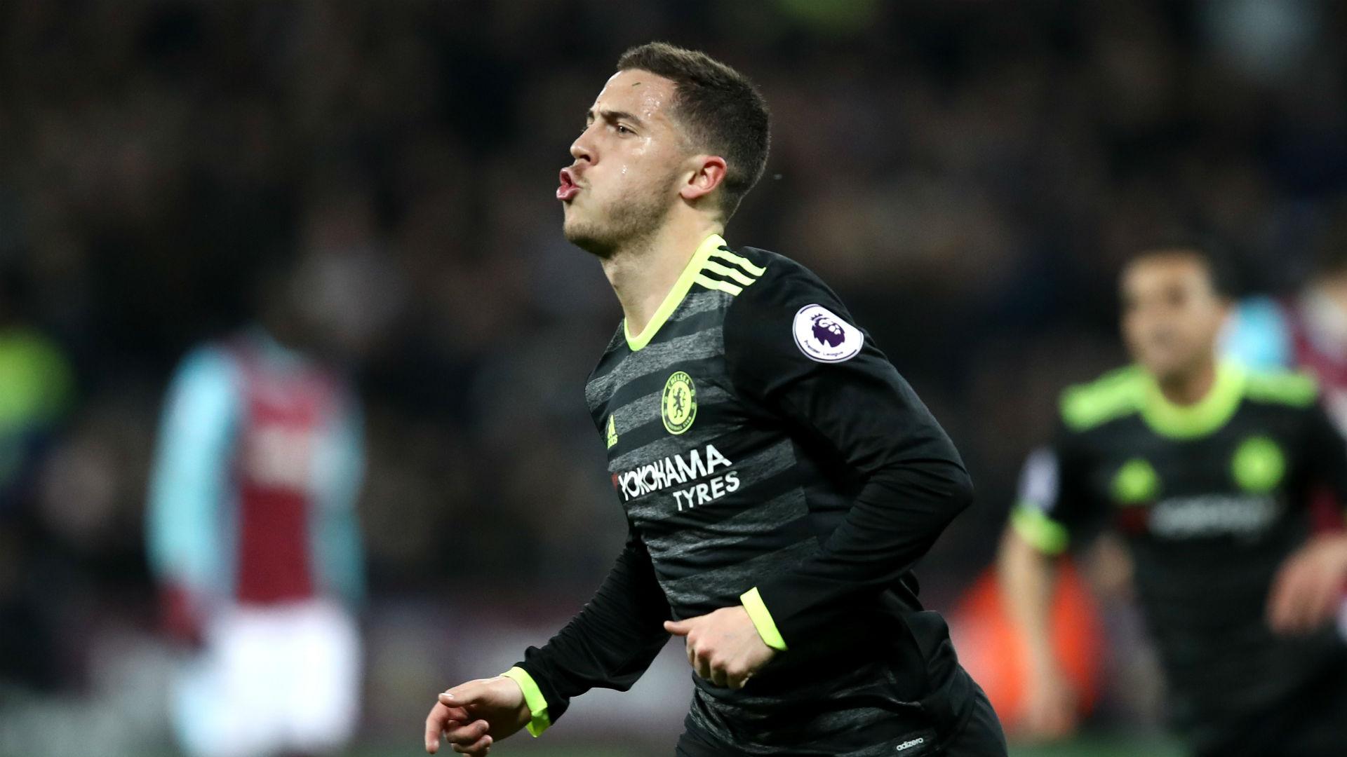 Chelsea West Ham Eden Hazard