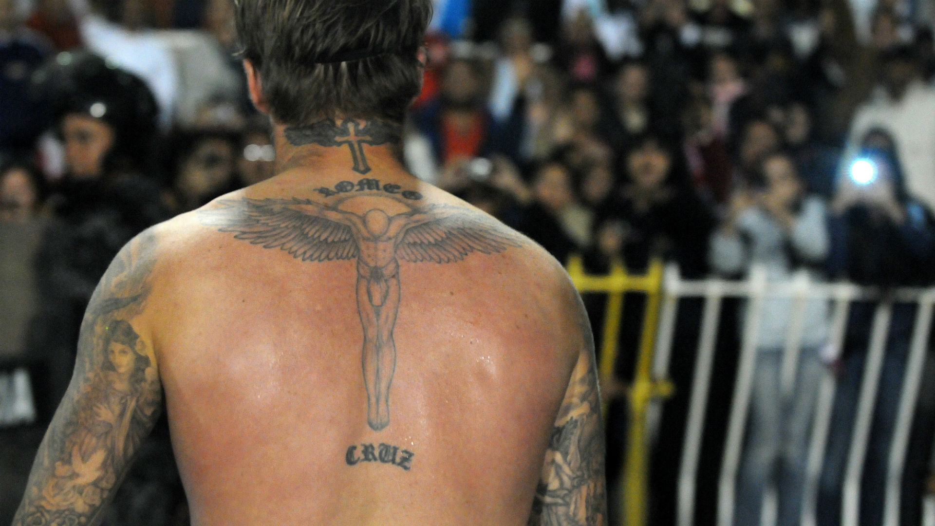David Beckham Tattoo Hindi
