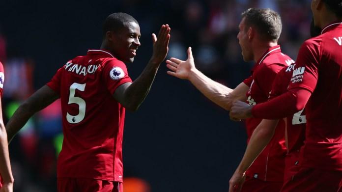 Gini Wijnaldum Liverpool 2018-