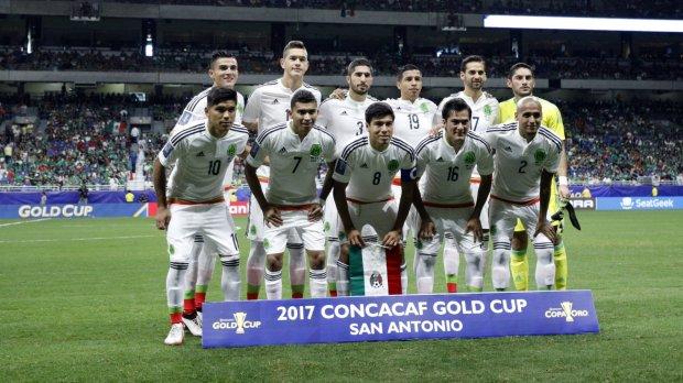 Mexico starting XI