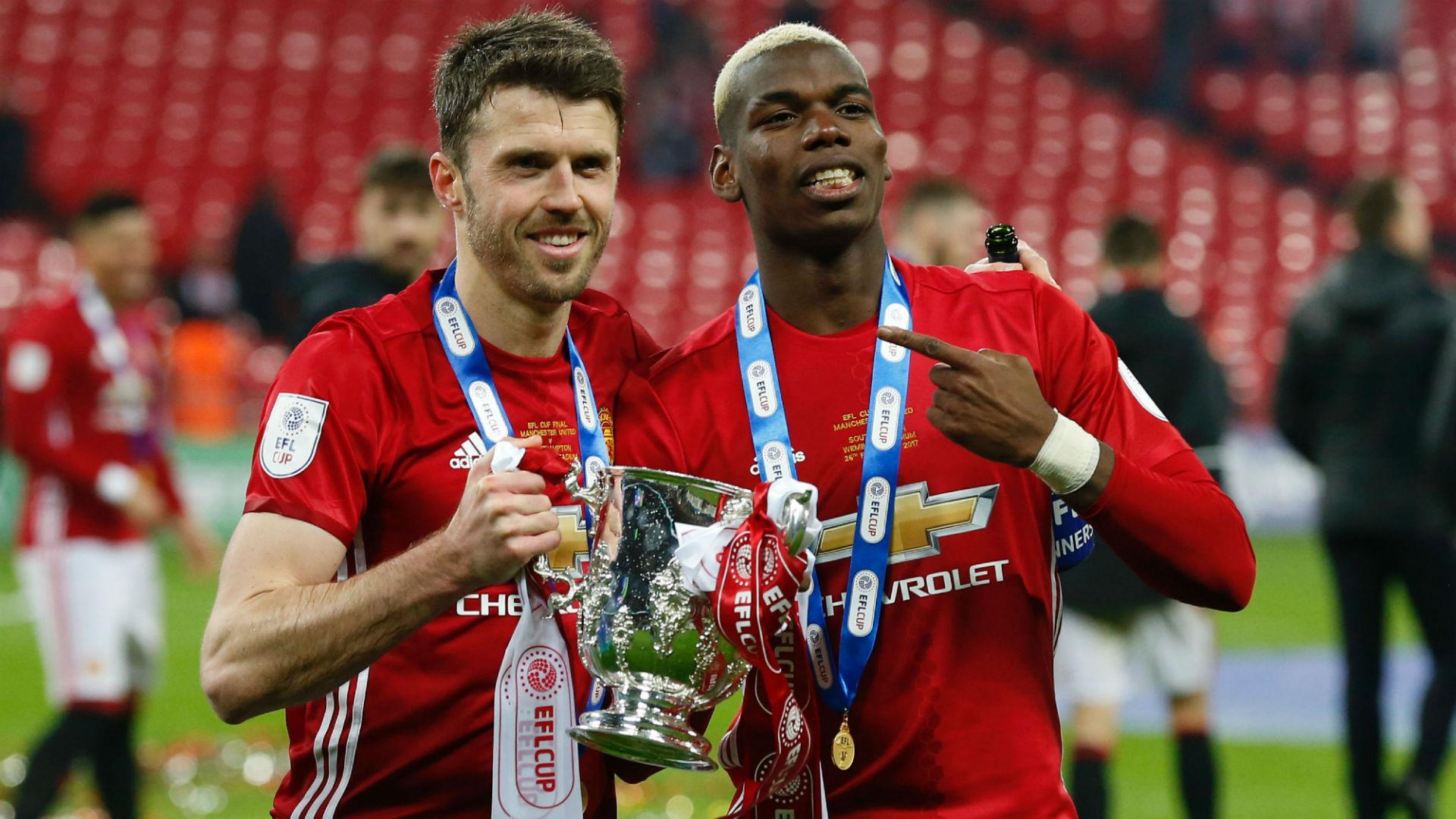 Michael Carrick Paul Pogba Manchester United