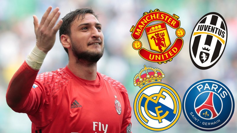 Arsenal Juventus Real Madrid And The Clubs Who Could Sign Donnarumma
