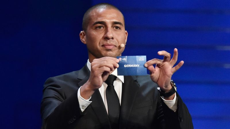 David Trezeguet Euro 2016 draw