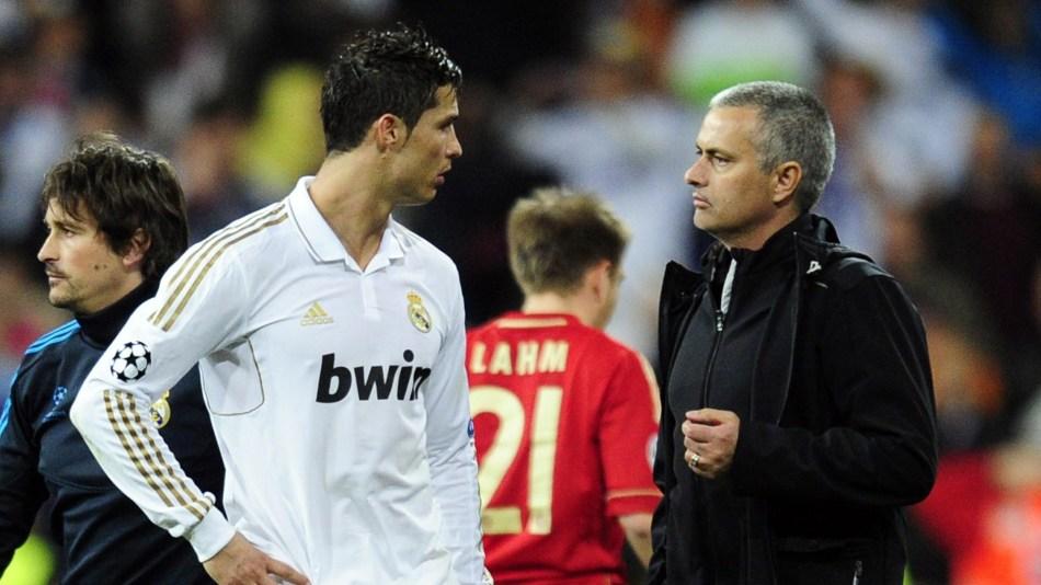 Cristiano Ronaldo Jose Mourinho Real Madrid