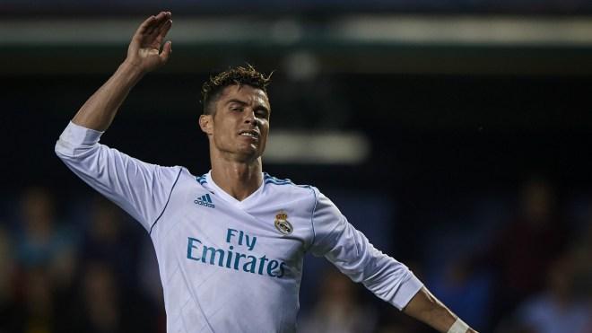 Cristiano Ronaldo Real Madrid Villarreal 19052018