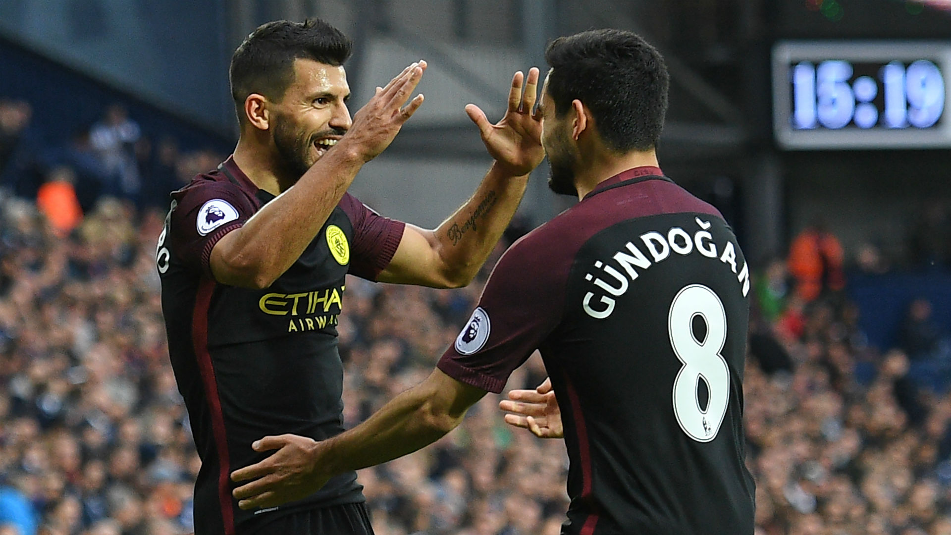 Image result for 'Goal machine' Aguero will not leave Manchester City – Gundogan