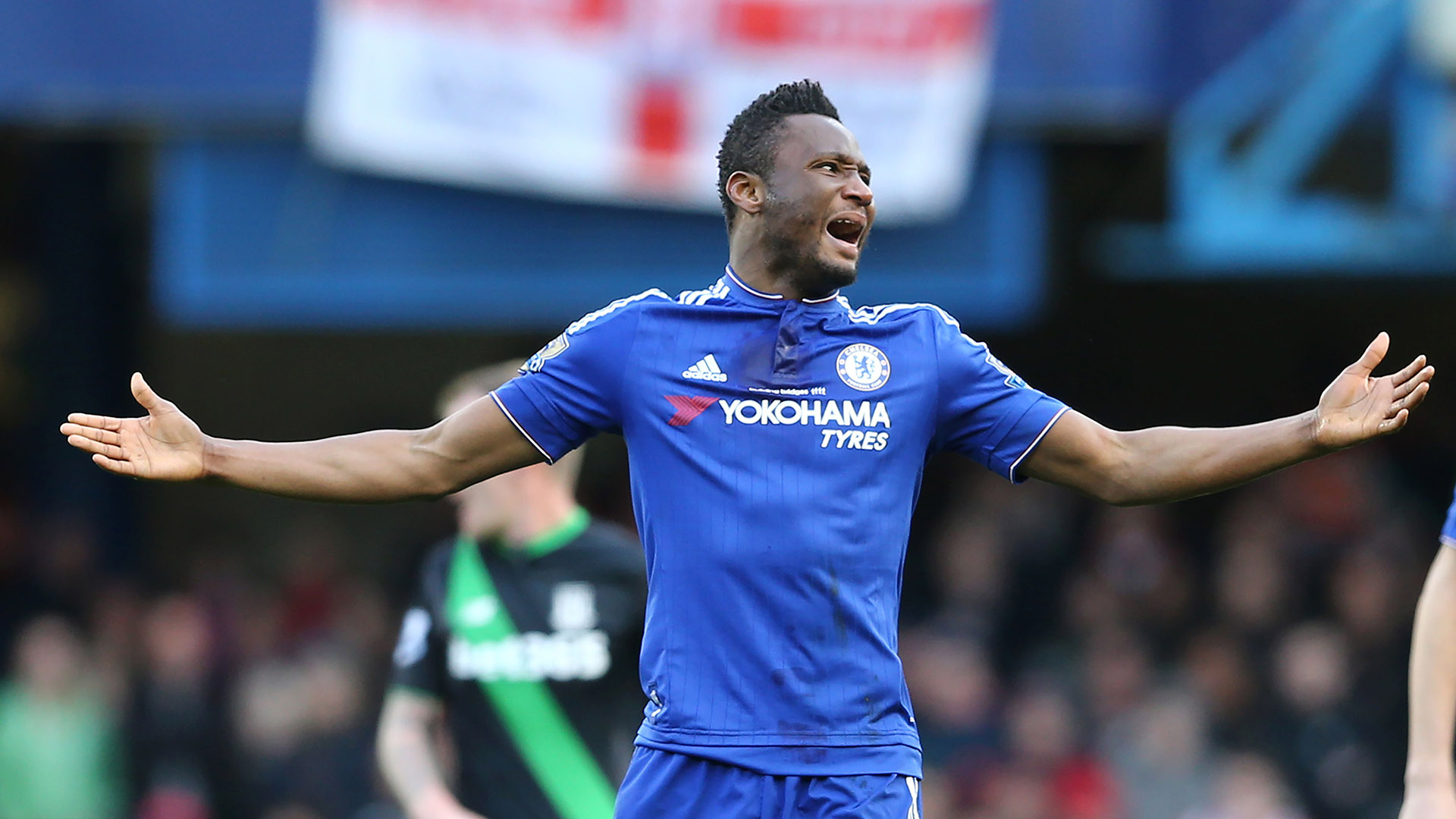 Image result for I'm pleased with Mikel Obi, says Chelsea's Antonio Conte