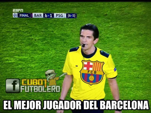 Memes Del Barcelona Vs Psg Goalcom