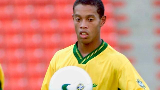 Image result for ronaldinho at u- 20 world cup