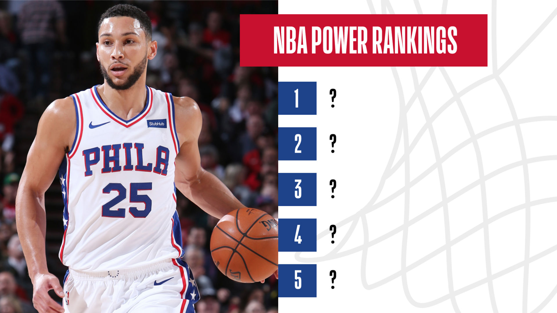 Nba Power Rankings Philadelphia 76ers Take The Top Spot