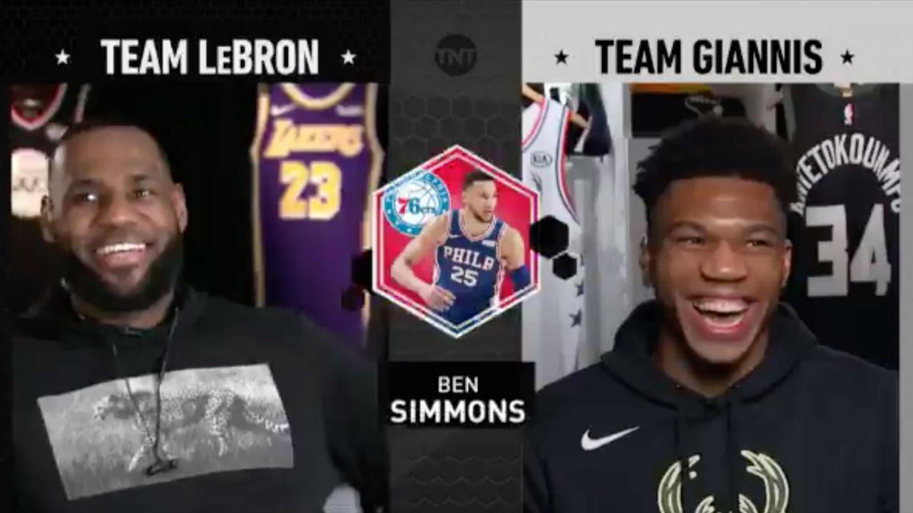 Nba All Star Draft 2019 Lebron Trades Westbrook To Team