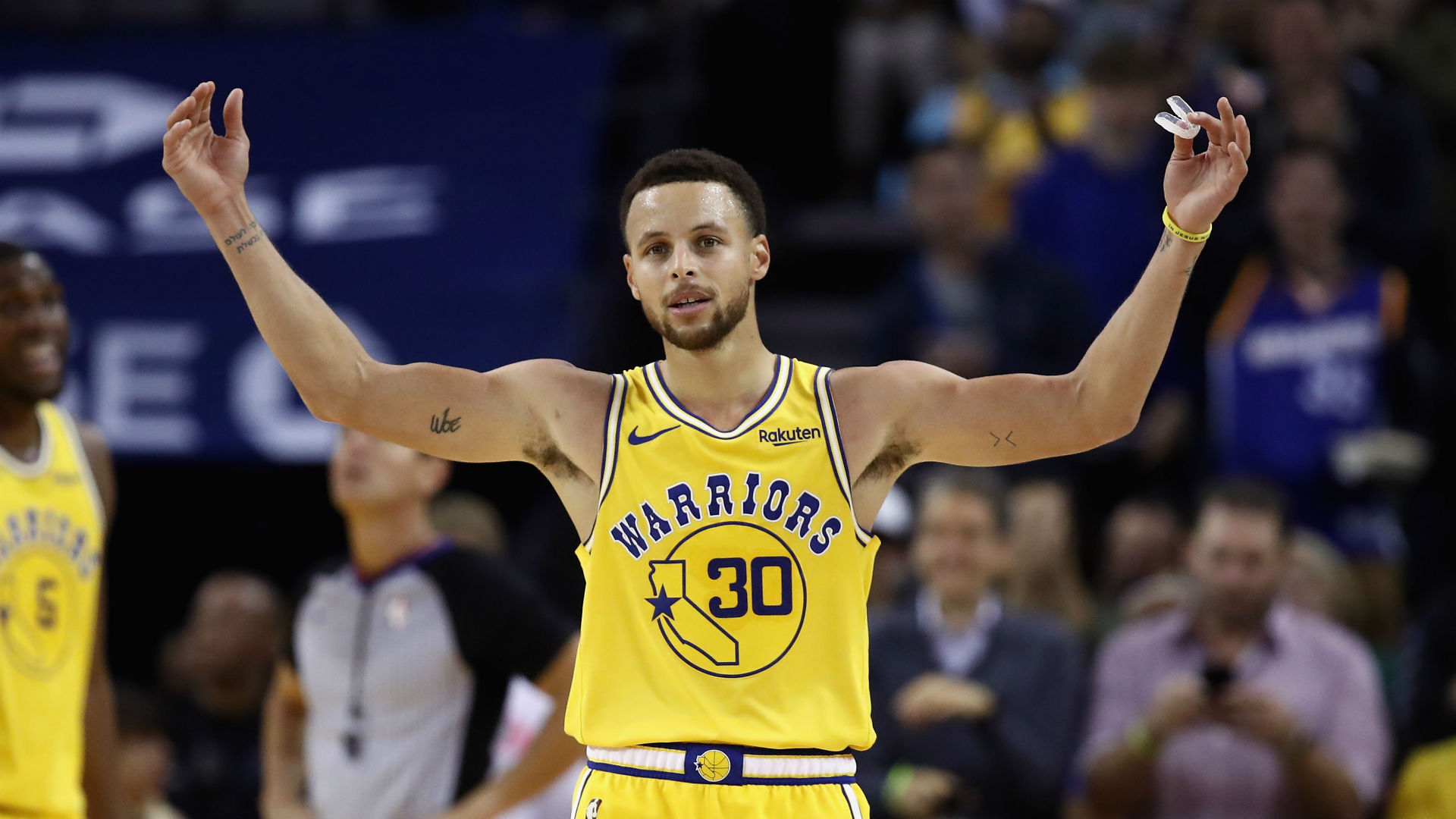 Warriors' guard Steph Curry 'might' return as soon as Friday to face Raptors | NBA.com Australia | The official site of the NBA