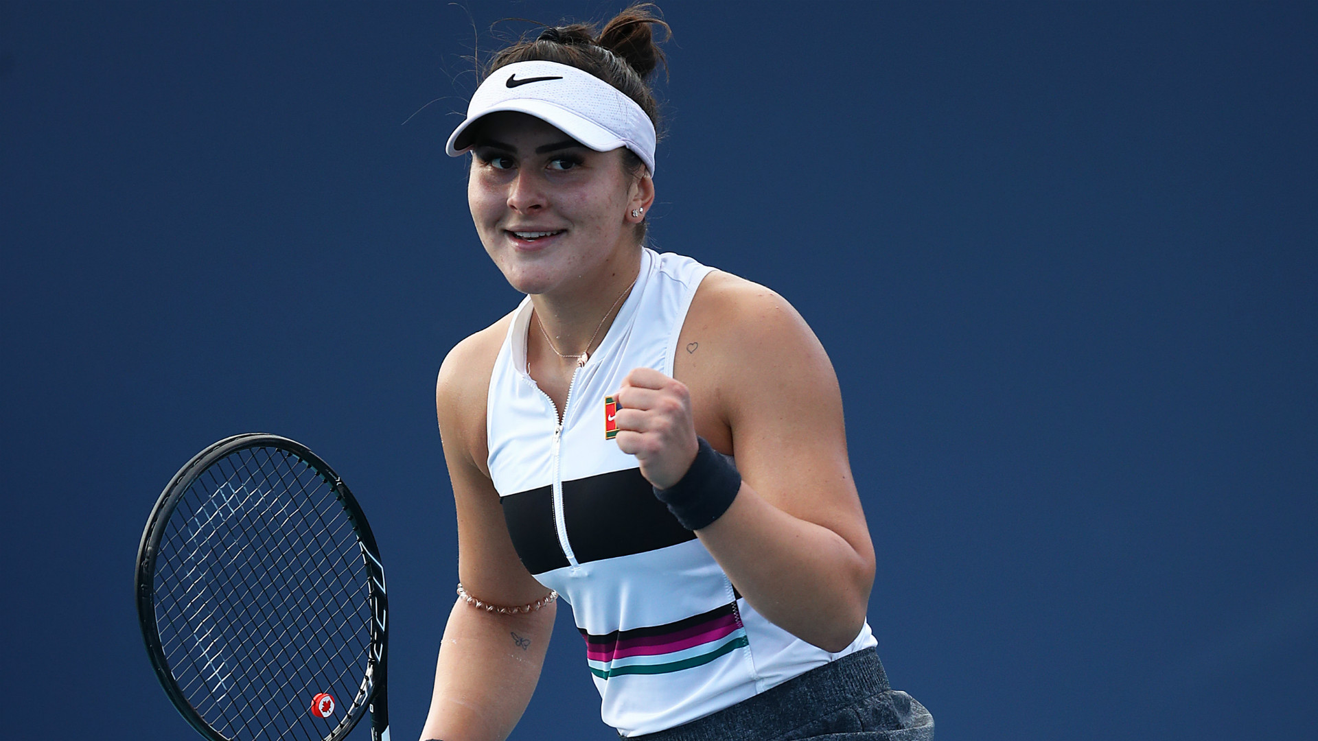 Miami Open Bianca Andreescu Eases Into Third Round